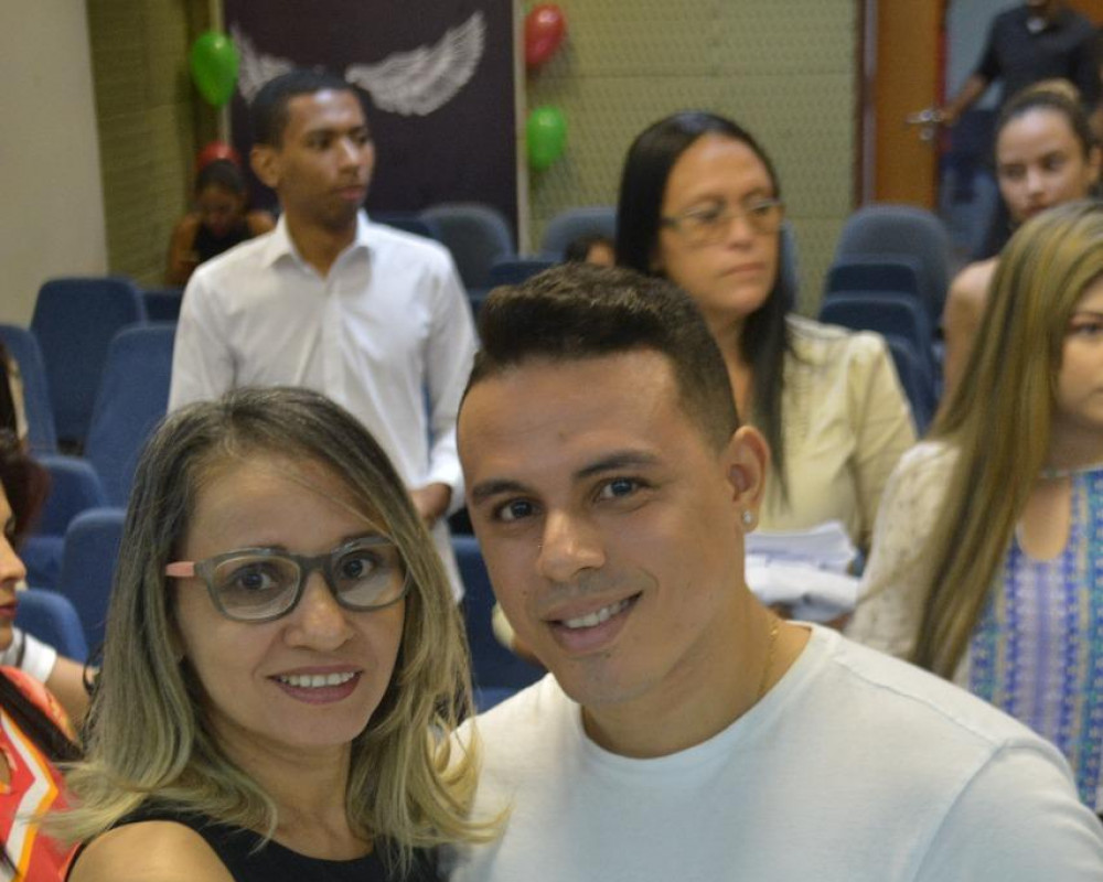 Foto 5 - A Faculdade EDUFOR realiza a Cerimônia do Jaleco