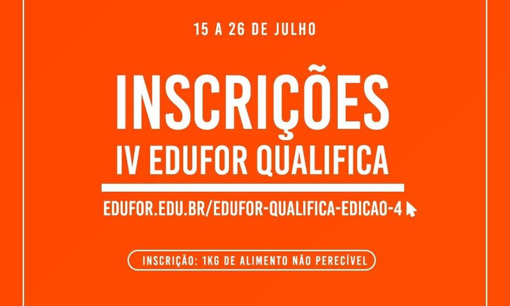 4ª Edição - Edufor Qualifica