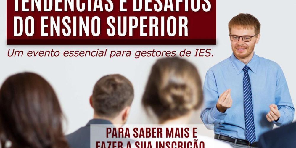 EDUFOR CONSULTORIA PROMOVE EVENTO SOBRE: TENDÊNCIAS E DESAFIOS DO ENSINO SUPERIOR.