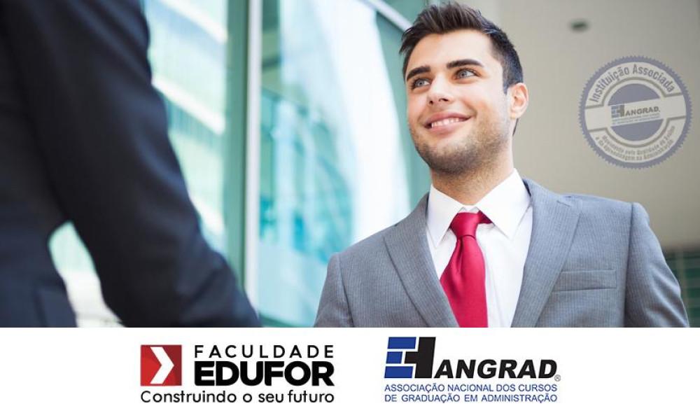 O curso de Administração da Faculdade EDUFOR agora tem mais um diferencial