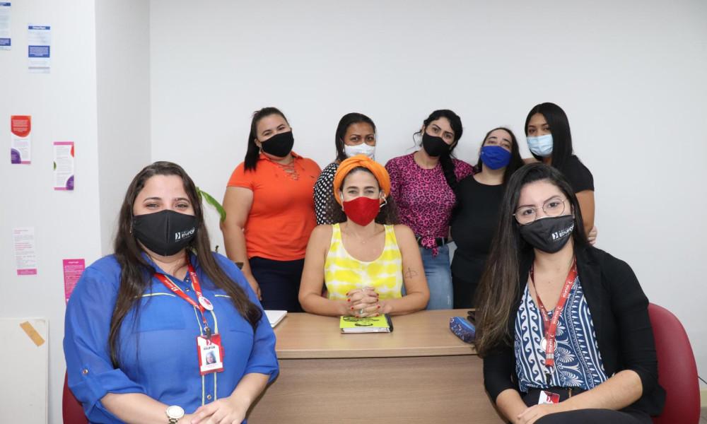 Alunas de Serviço Social da EDUFOR vivenciam estágio curricular na SEMU e se destacam por participar da Elaboração da Política Estadual da Mulher