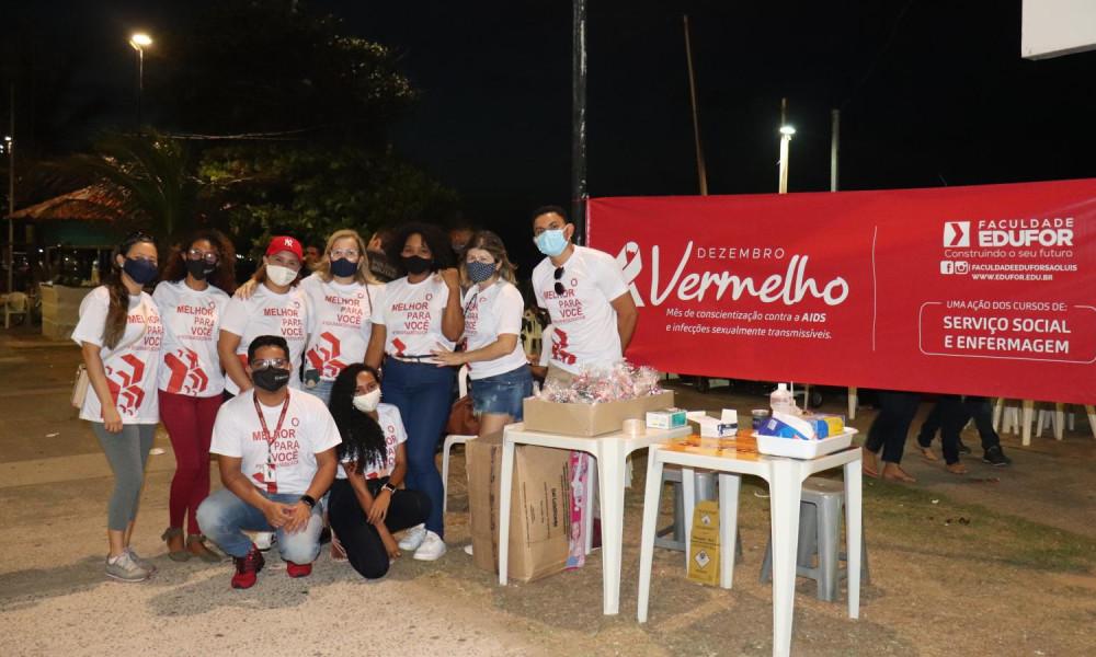 Faculdade EDUFOR realiza ação de conscientização e prevenção ao HIV/AIDS