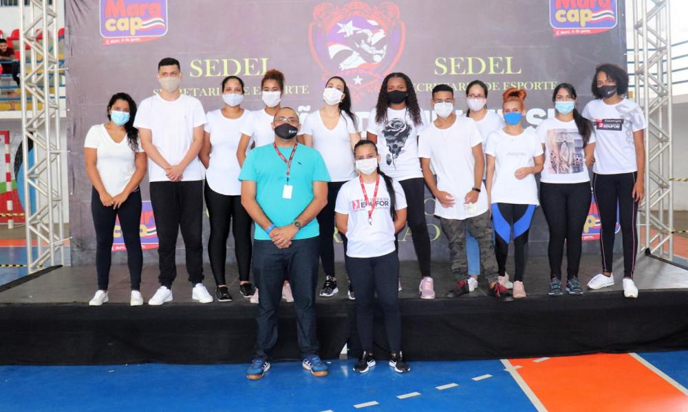 Alunos do curso de Fisioterapia da EDUFOR participam de atividades práticas em campeonato de Jiu-Jitsu