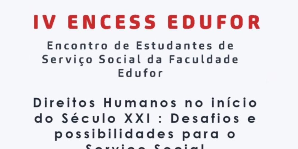 IV ENCESS EDUFOR