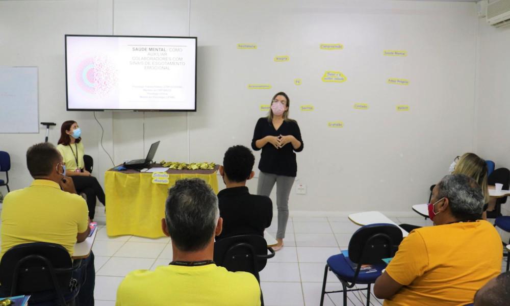 Setembro Amarelo - Edufor promove palestra de prevenção ao suicídio