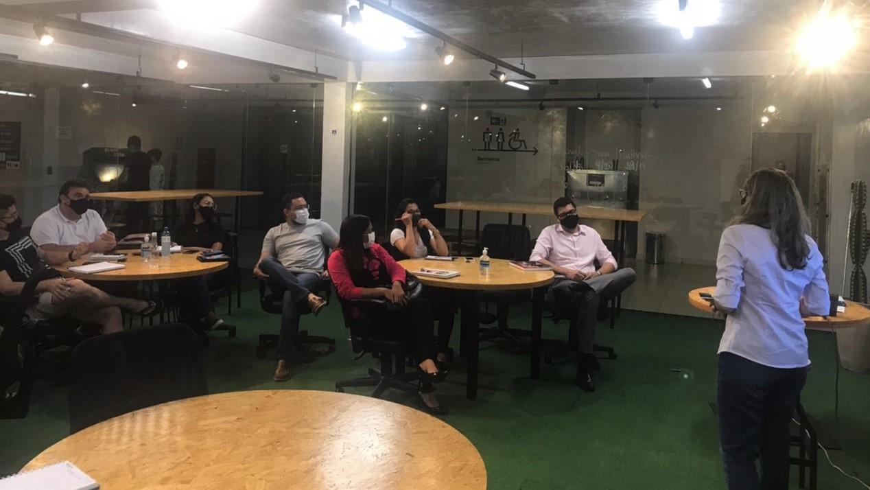 """Turma de MBA da Edufor inicia disciplina """"Gestão de Pessoas na Sociedade do Conhecimento"""""""