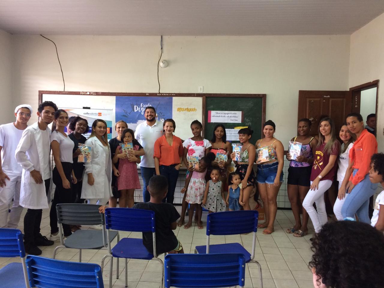 Faculdade Edufor e Coife Odonto realizam ações pela cidade.